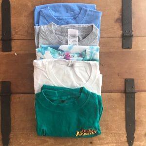 Bundle Of 5 Random Boys Tee Shirts